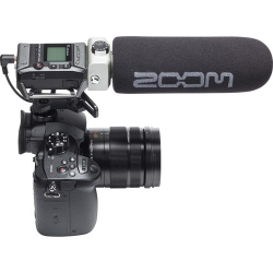 Zoom F1-SP - rejestrator audio, rekorder z mikrofonem shotgun SGH-6