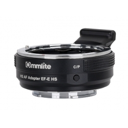 Commlite CM-EF-E HS - adapter bagnetowy z Canon EF na Sony E