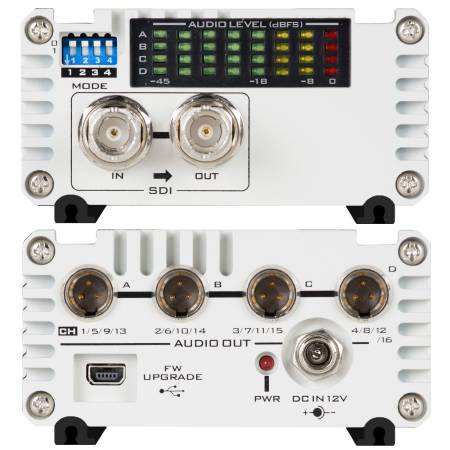 Datavideo DAC-90 - SDI Audio De-embedded Box / konwerter