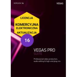 Magix Vegas Pro16 Suite - wersja komercyjna, elektroniczna, aktualizacja